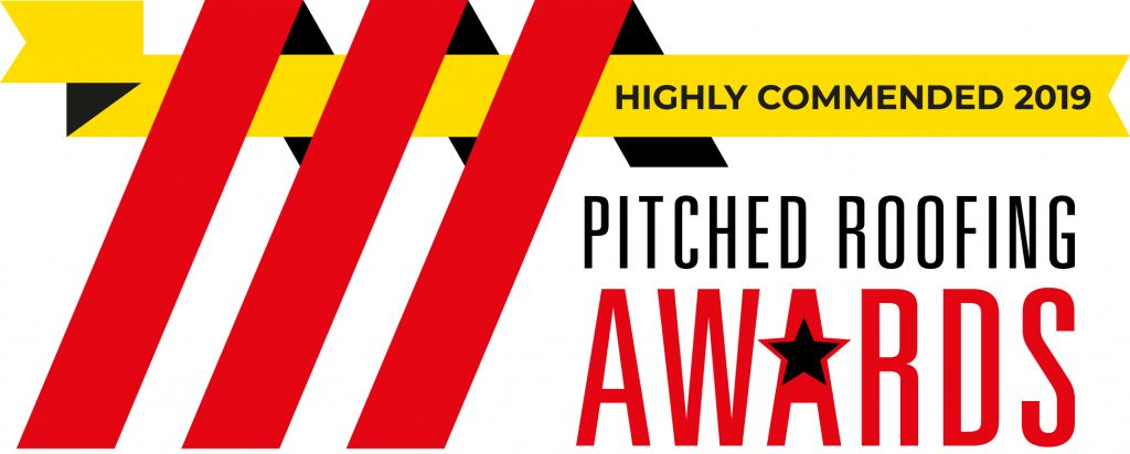 Pitched roofing awards 2019 Highly Commended