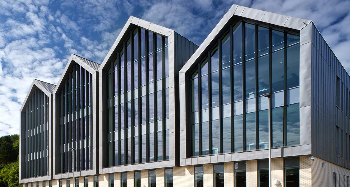 Pre-laq nova steel standing seam Albion Square
