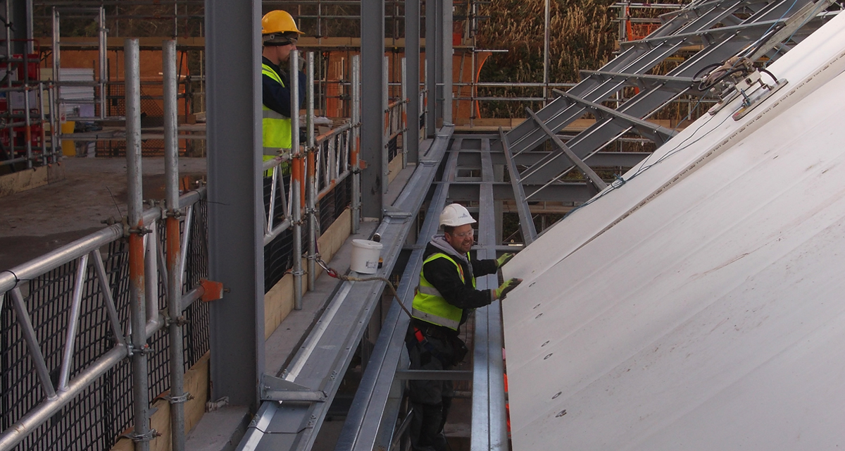 Longworth Install 163 1 4 Million Building Envelope At Albion