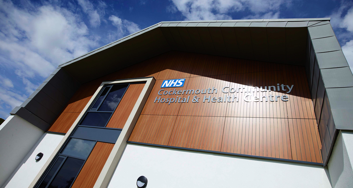Zinc roofing and cladding Cockermouth Hospital Longworth 6