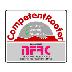 Longworth Awards and Accreditations NFRC Competent Roofer