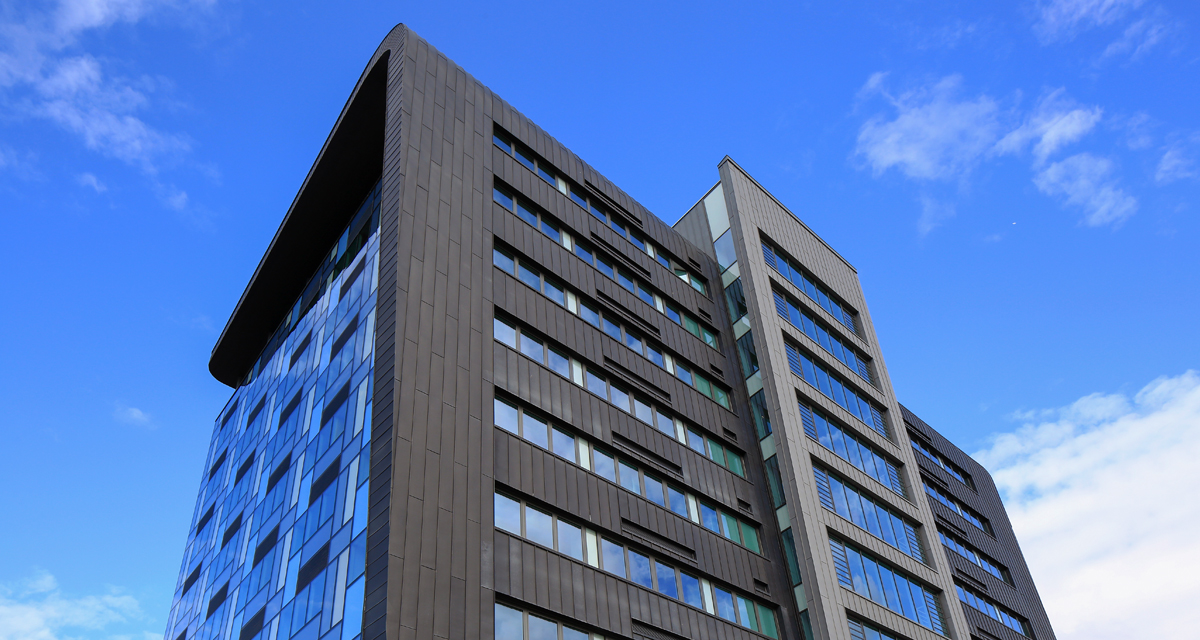 Zinc Roofing and Cladding Parsons Tower Newcastle Longworth 4