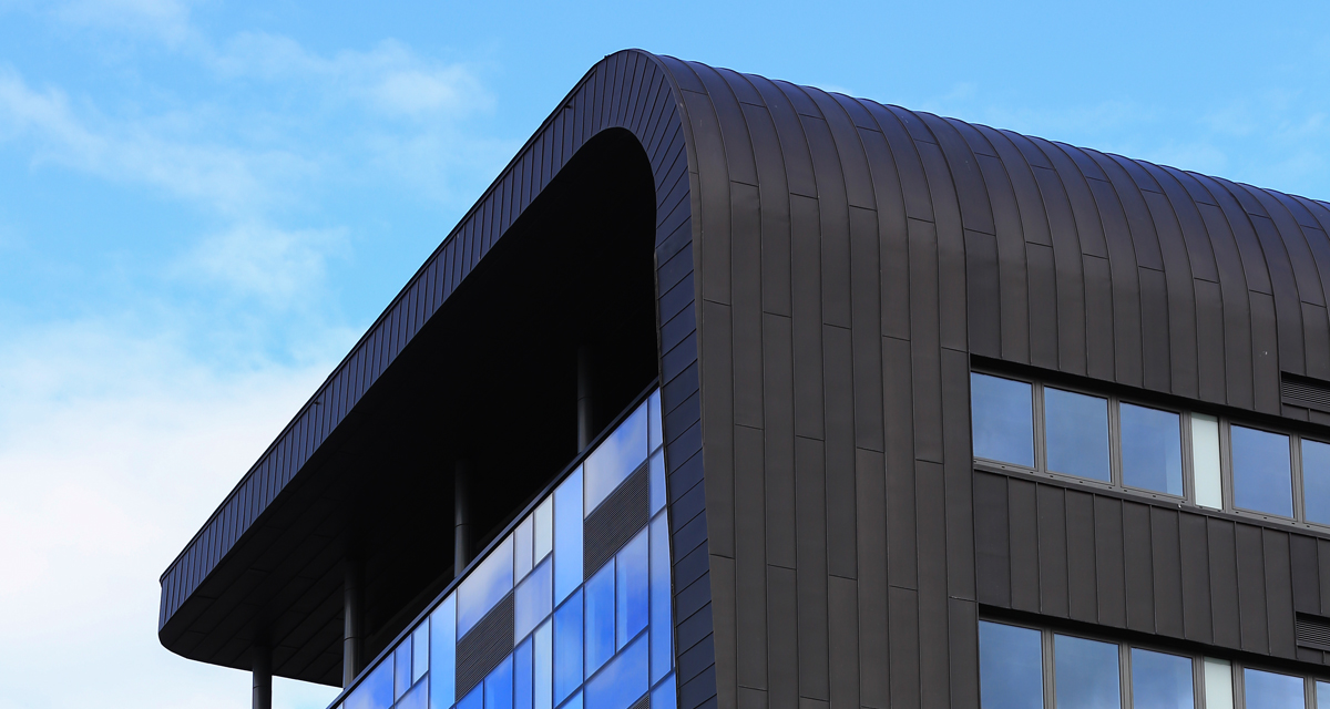 Zinc Roofing and Cladding Parsons Tower Newcastle Longworth 2