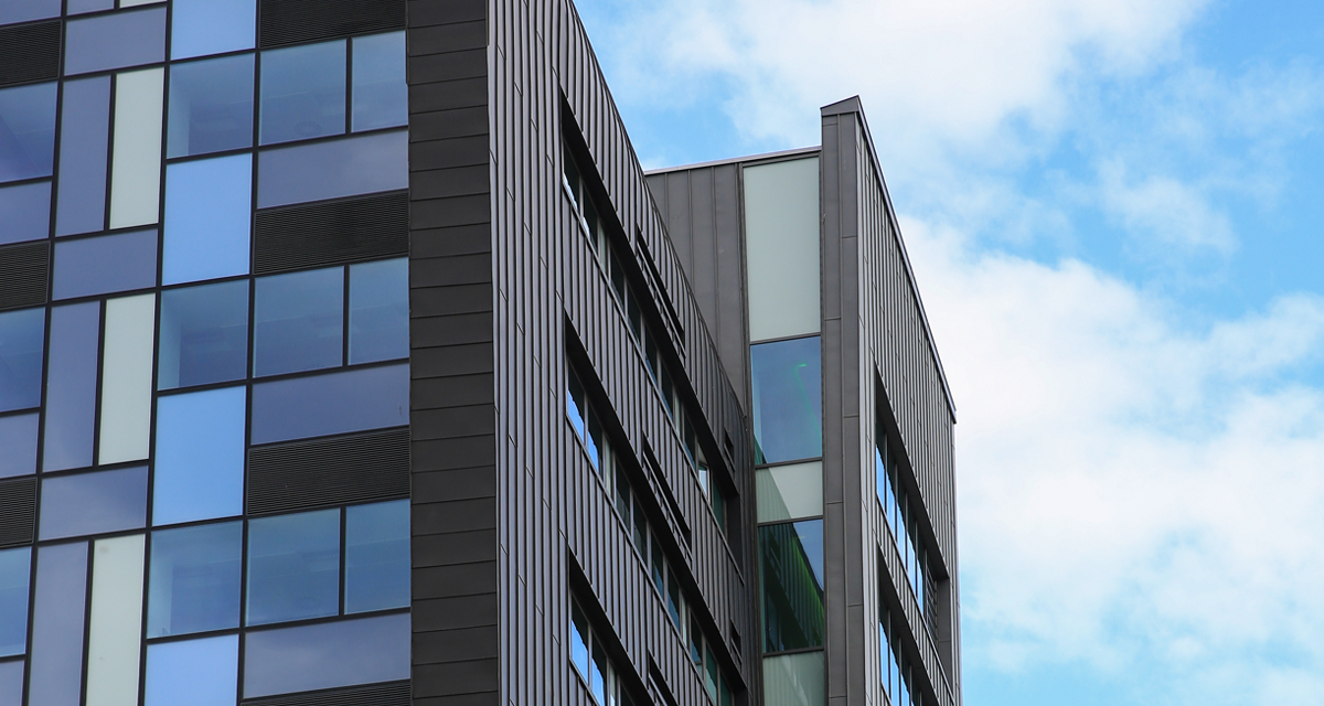 Zinc Roofing and Cladding Parsons Tower Newcastle Longworth 1