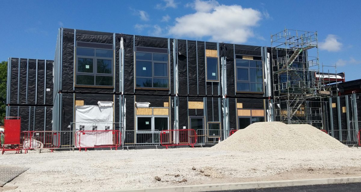 St Luke's Primary CofE Primary School Laing O'Rourke and Atkins Global cladding