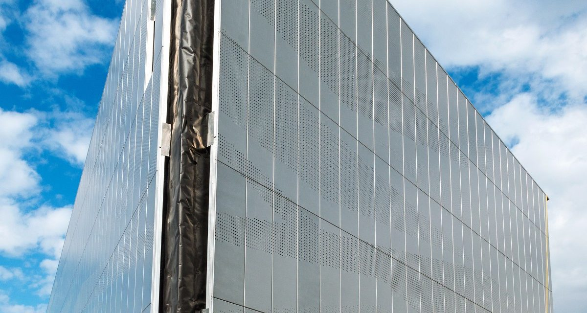 Rainscreen cladding Wakefield Archive Longworth 1