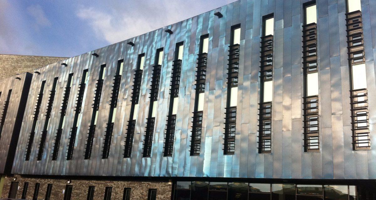 Blackburn College Rimex blue steel