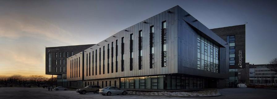 Blackburn College Rimex dusk