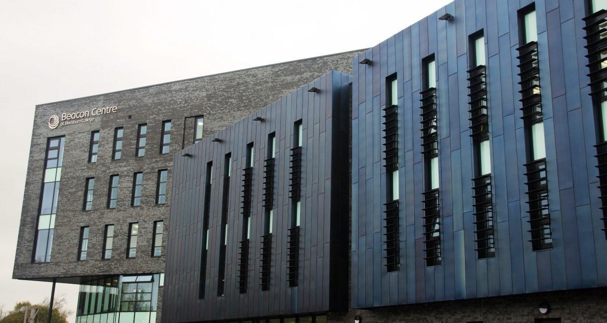 Blackburn College Rimex side elevation