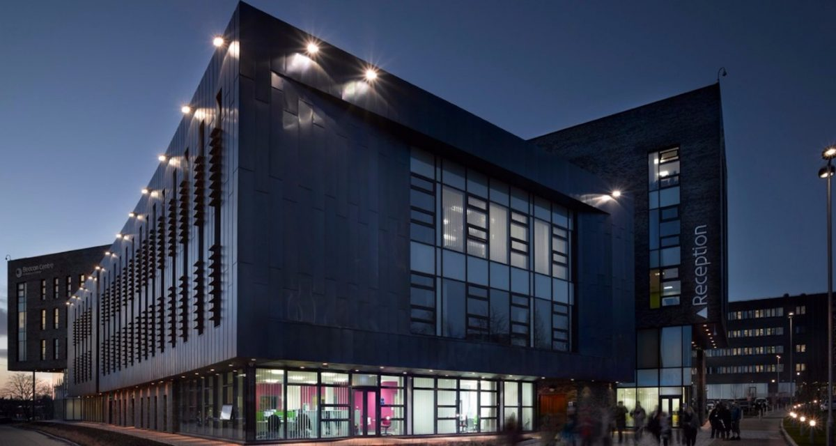 Blackburn College at night rimex