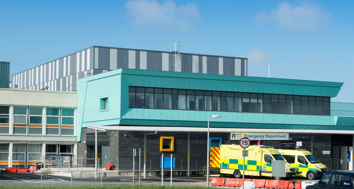 Longworth Aintree Hospital Liverpool Finished AW ph1