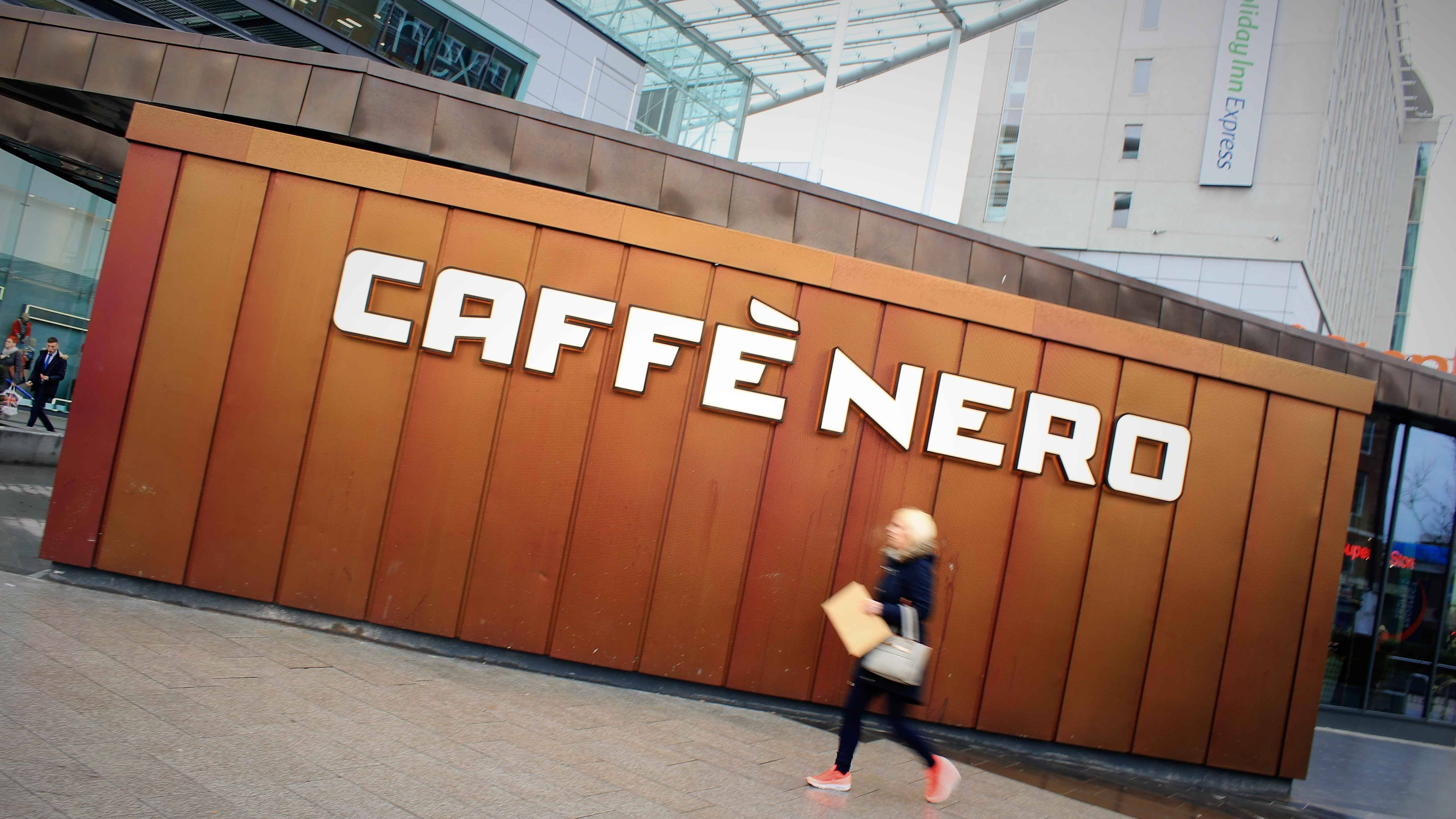 Caffe Nero Hull Longworth Rimex Rosey Gold Cladding