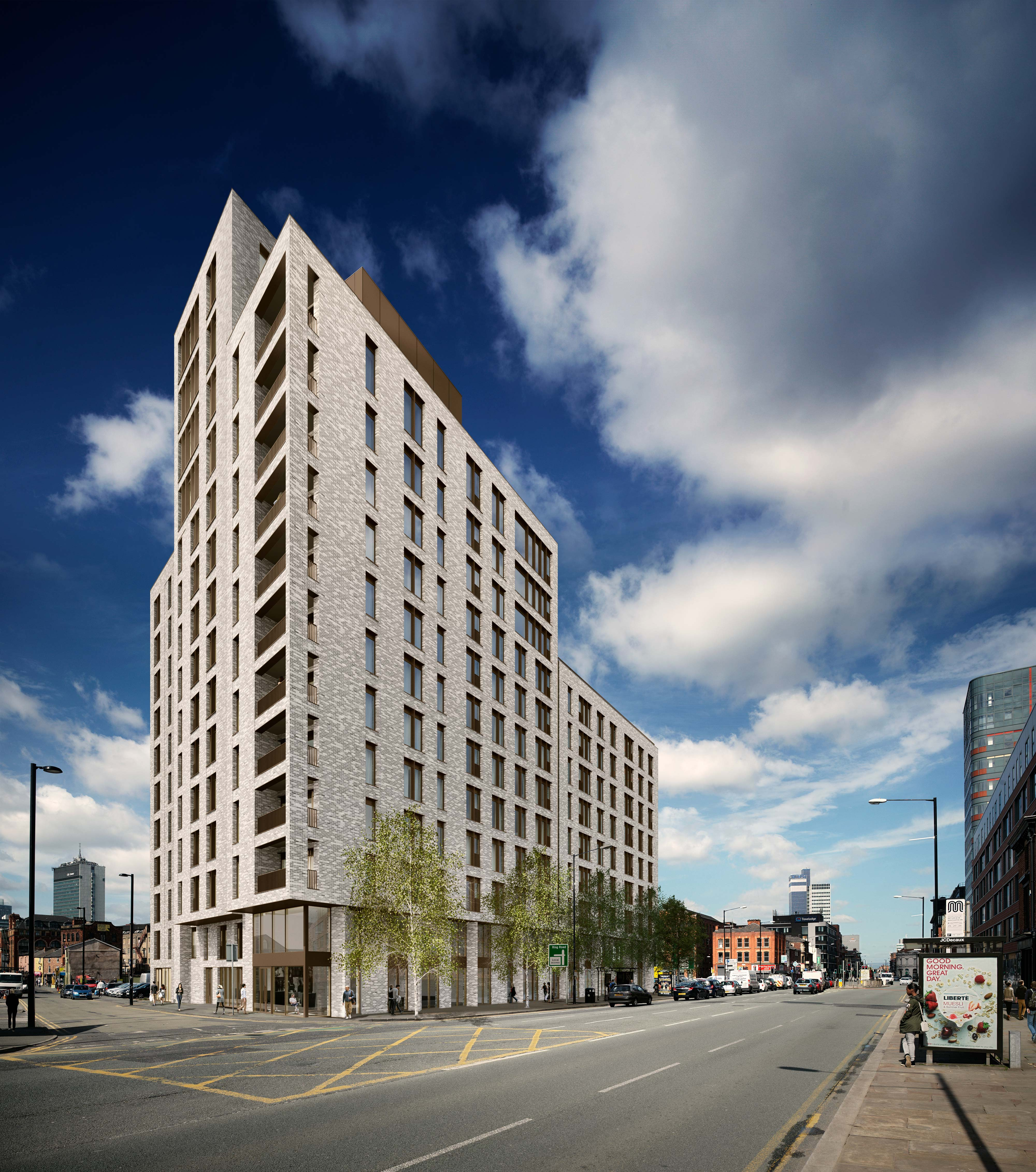 Breaking News Longworth New Contract for Port Street Manchester day