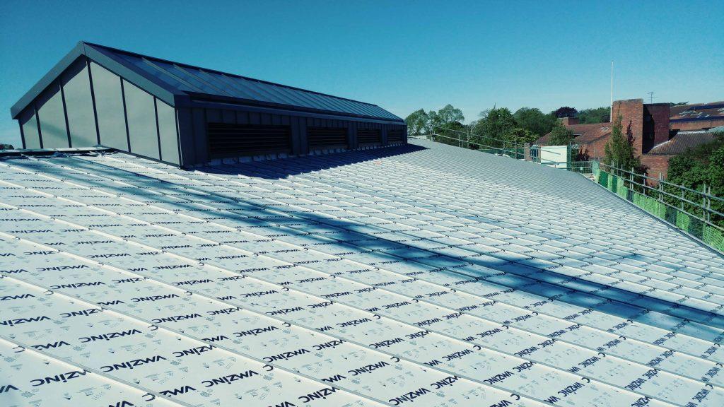 Kings College Cambridge Longworth Zinc Roofing (4)