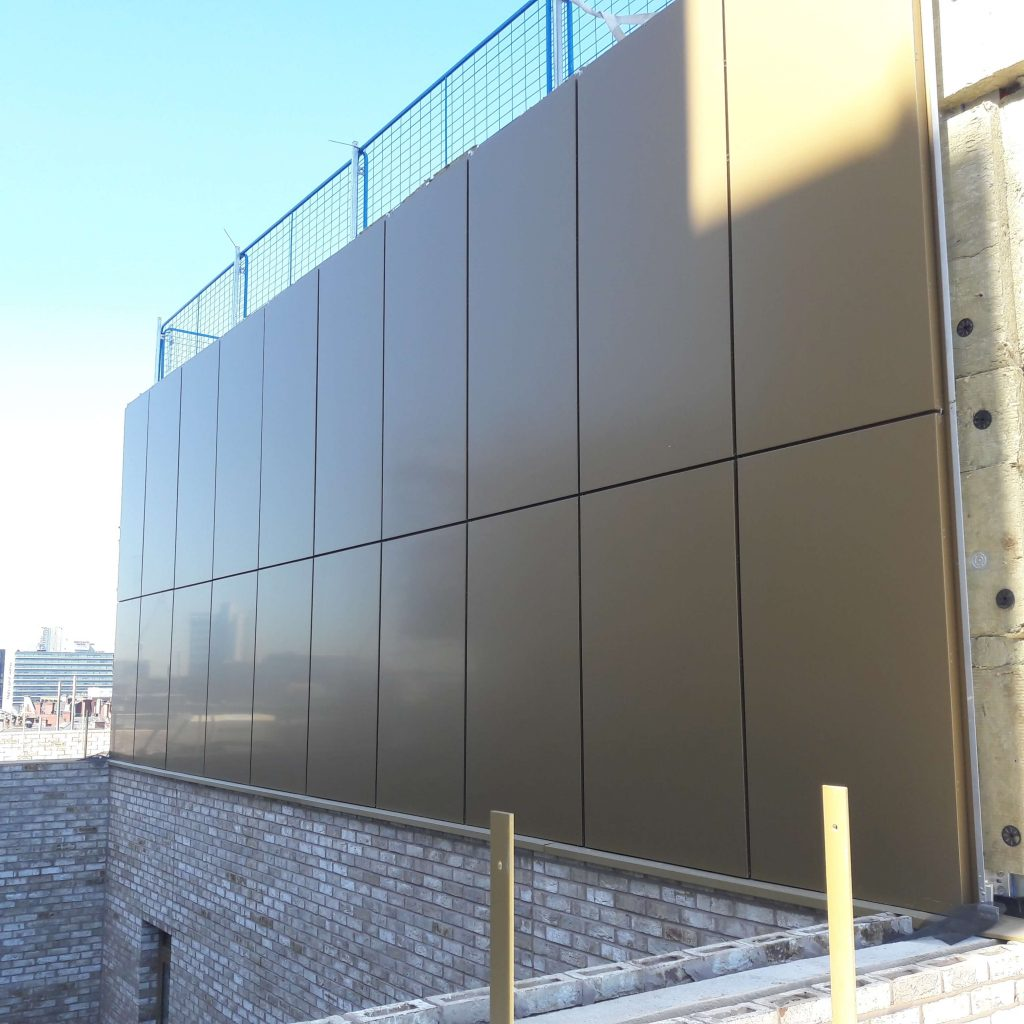 Longworth Port Street Manchester Bardsley Booth Muirie ACM Rainscreen Cladding Alucobond (1)