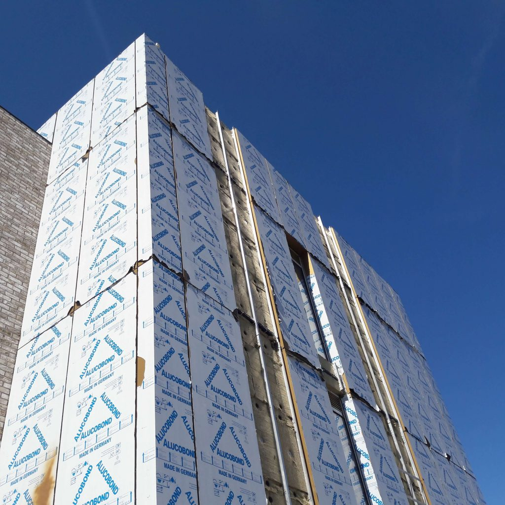 Longworth Port Street Manchester Bardsley Booth Muirie ACM Rainscreen Cladding Alucobond (6)