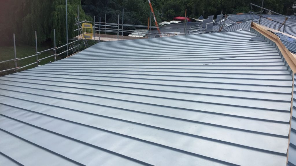 Redhill Primary School Zinc Roofing Dave Robson Longworth (2)
