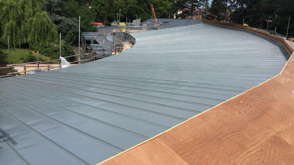 Redhill Primary School Zinc Roofing Dave Robson Longworth (3)