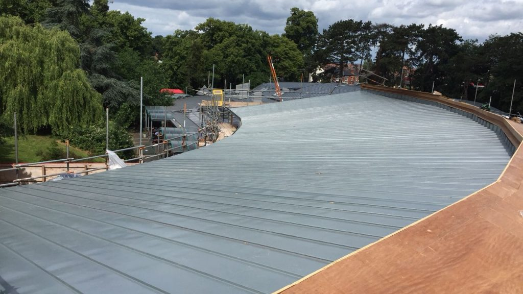 Redhill Primary School Zinc Roofing Dave Robson Longworth (5)