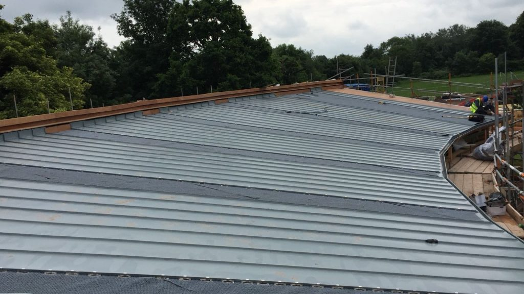 Redhill Primary School Zinc Roofing Dave Robson Longworth (6)