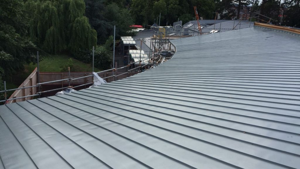 Redhill Primary School Zinc Roofing Dave Robson Longworth (7)
