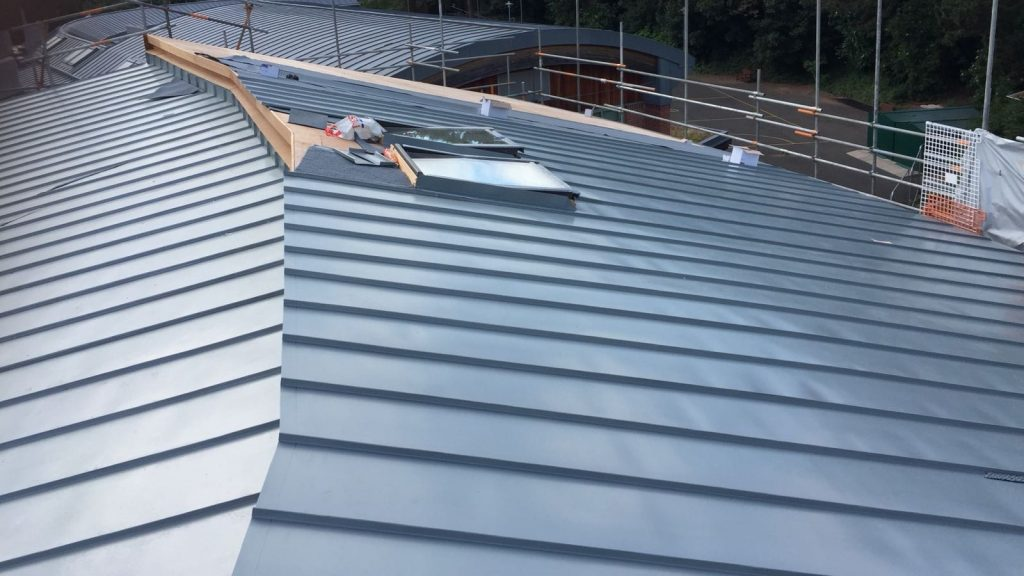 Redhill Primary School Zinc Roofing Dave Robson Longworth (10)