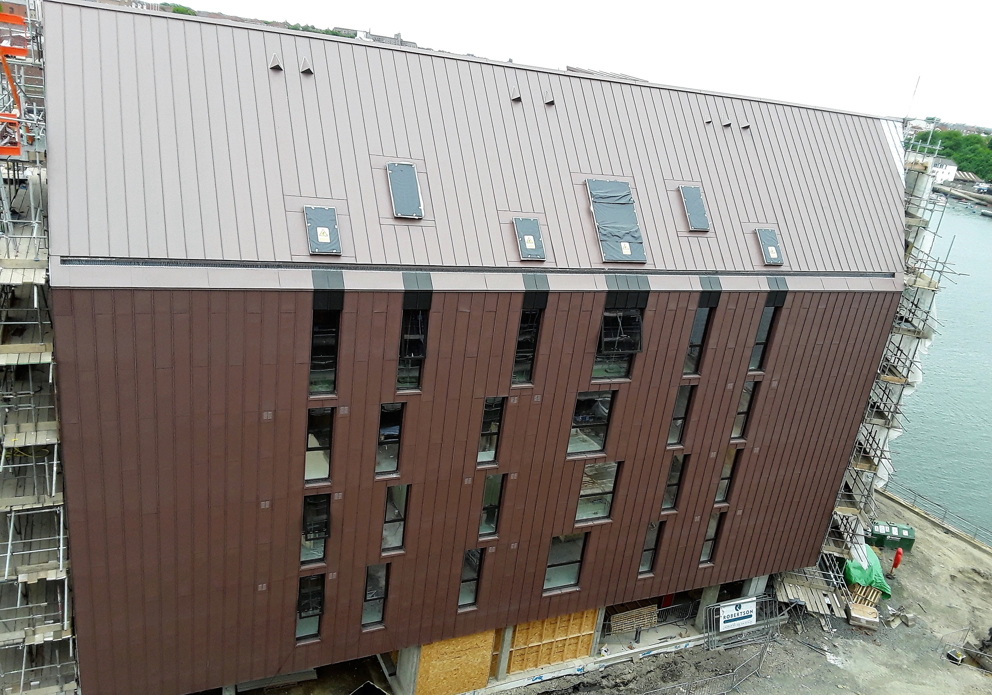 Zinc Roofing And Cladding In North Shields By Longworth
