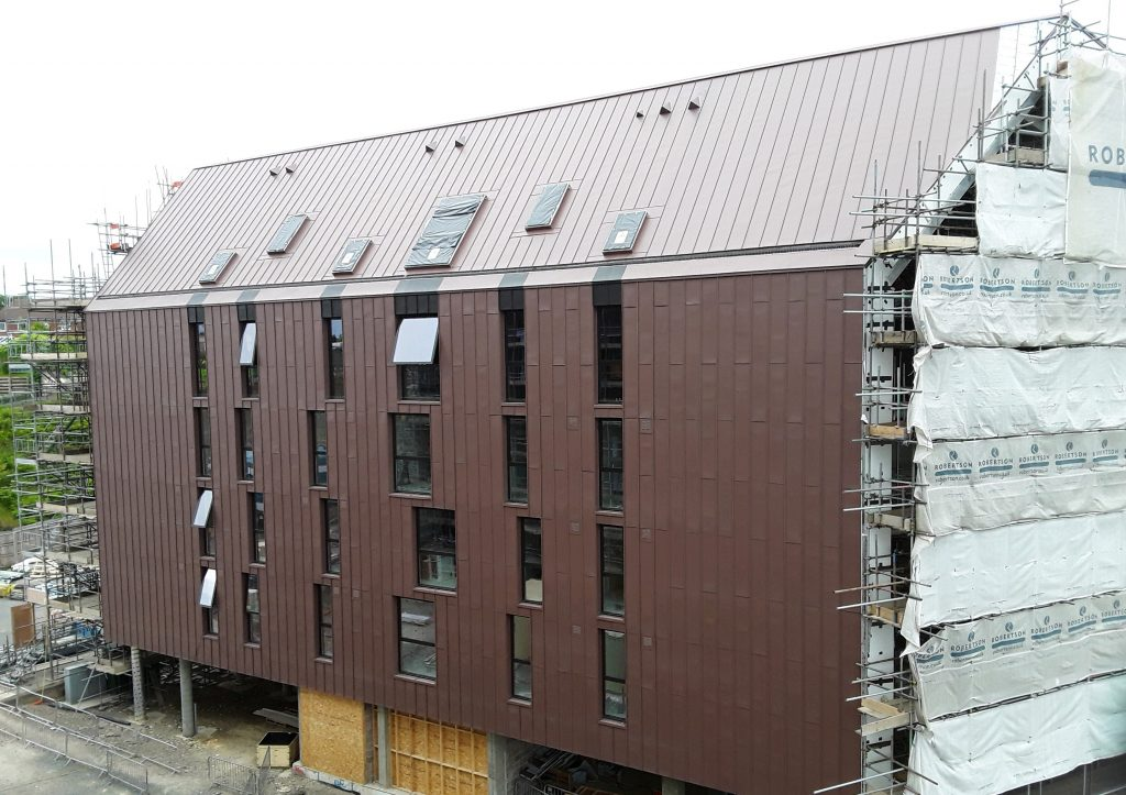 Zinc Roofing and Cladding Longworth Smokehouses (2)
