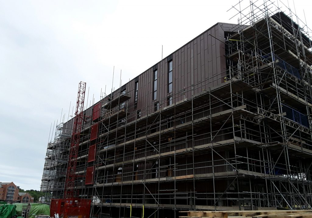 Zinc Roofing and Cladding Longworth Smokehouses (3)