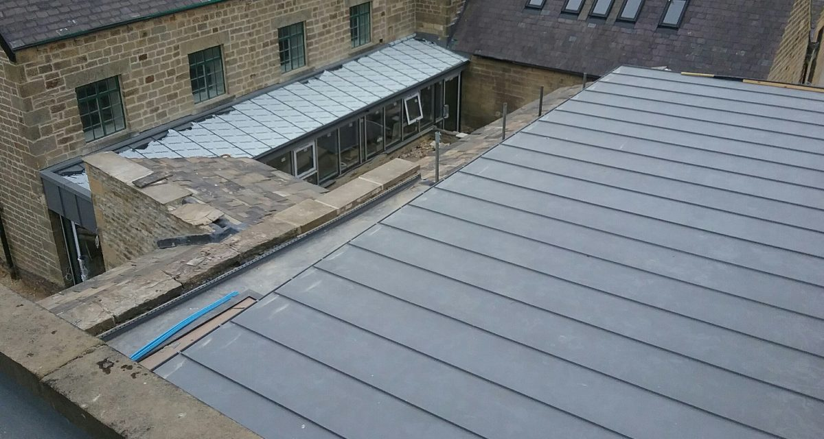 Swinton Park Country Club and Spa Zinc Roofing Longworth (12)