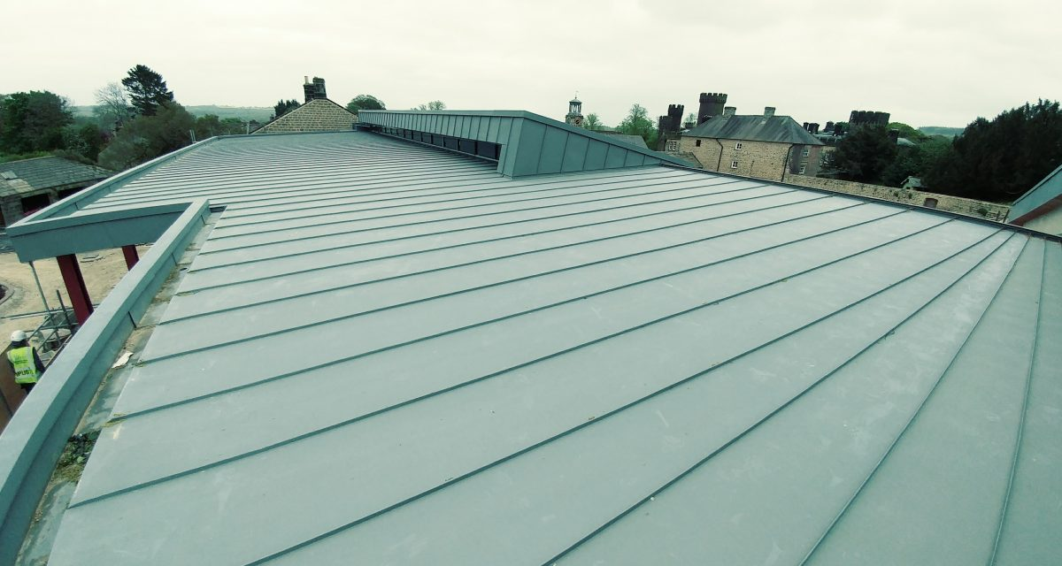 Swinton Park Country Club and Spa Zinc Roofing Longworth (14)