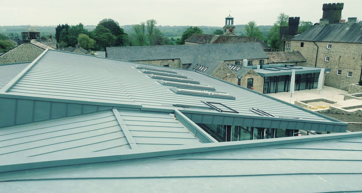 Swinton Park Country Club and Spa Zinc Roofing Longworth (16)