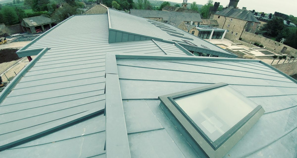 Swinton Park Country Club and Spa Zinc Roofing Longworth (9)