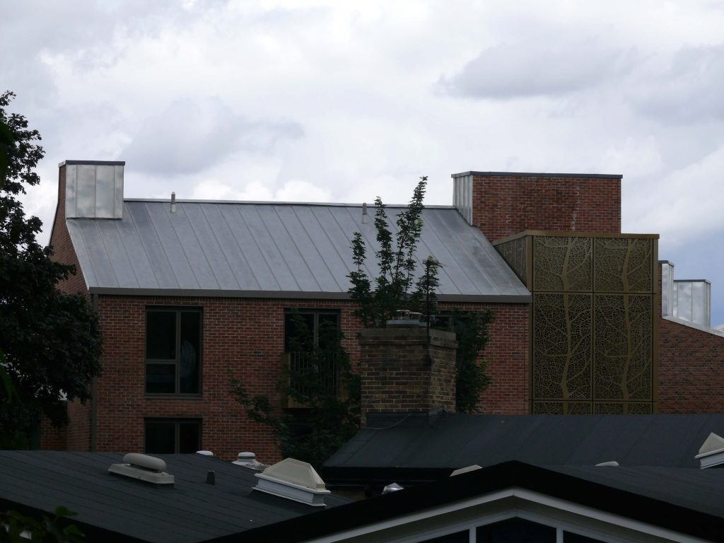 York Vita UGINOX Patina K44 Stainless Steel Roofing Longworth Kevin Jones Metal Solutions (1)
