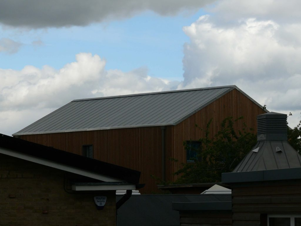 York Vita UGINOX Patina K44 Stainless Steel Roofing Longworth Kevin Jones Metal Solutions (5)