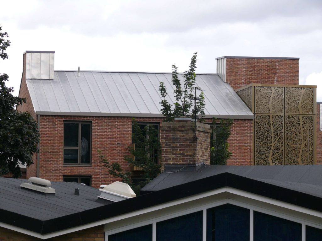 York Vita UGINOX Patina K44 Stainless Steel Roofing Longworth Kevin Jones Metal Solutions (7)