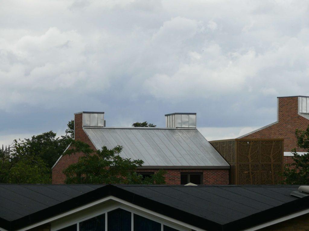 York Vita UGINOX Patina K44 Stainless Steel Roofing Longworth Kevin Jones Metal Solutions (9)