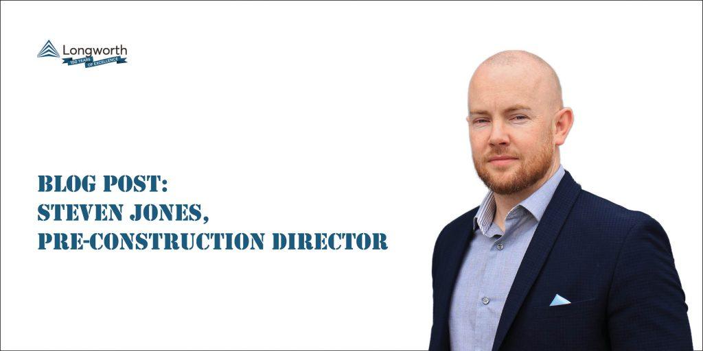 Pre-Construction Director Steven Jones Blog