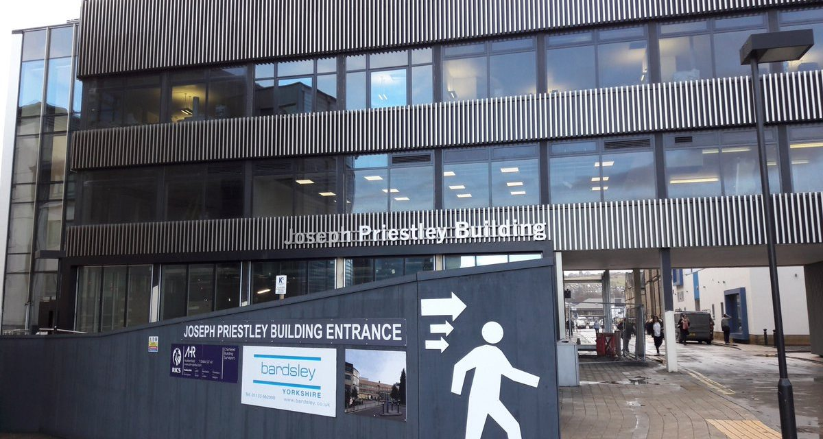 Rainscreen Cladding Joseph Priestley Building Longworth SJ Twitter