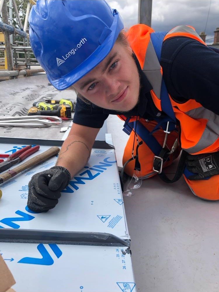 North West Roof Training Group NWRTG Apprentice 1