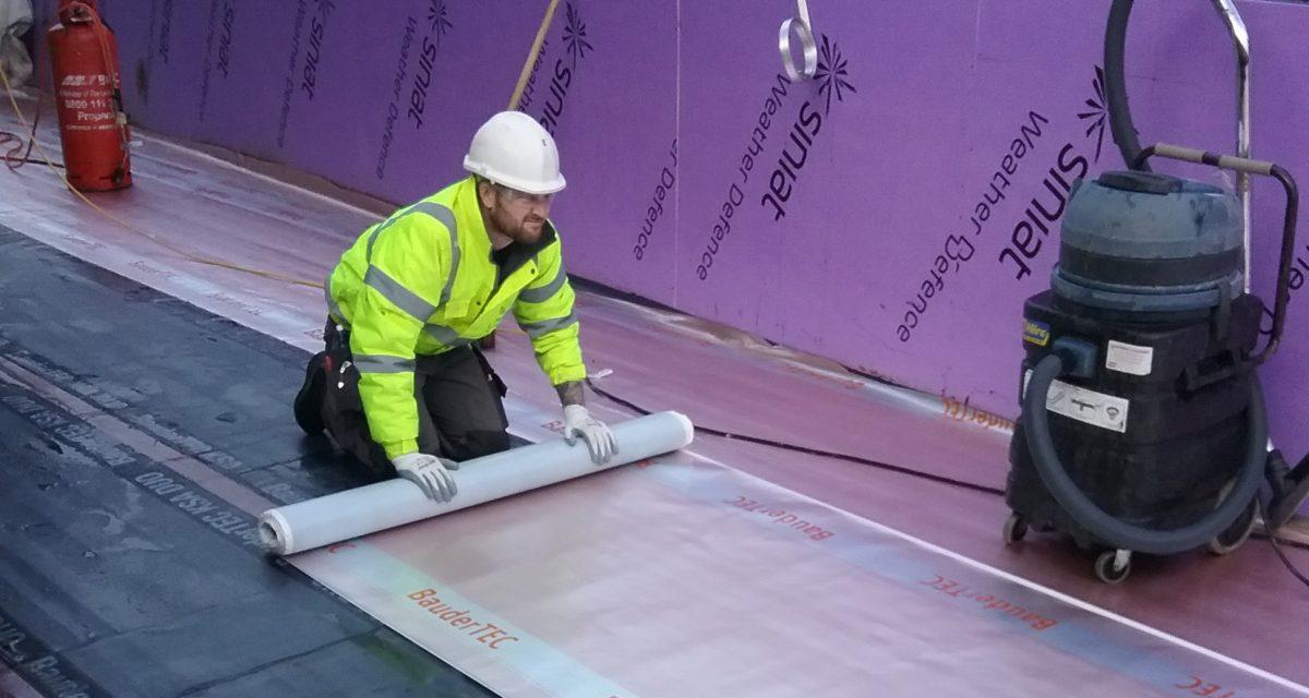 Wigan Bus Station Bauder Total Roof Longworth