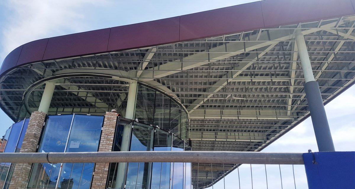 Wigan Bus Station Longworth Baileys Fascia 2 (Large)