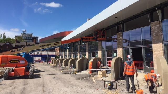 Wigan Bus Station Longworth fascia.JPG