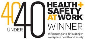 40 under 40 award logo