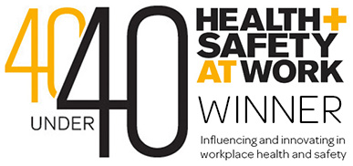 40 under 40 health and safety award 2019