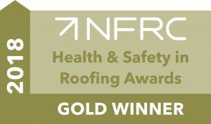 NFRC Gold safety award logo