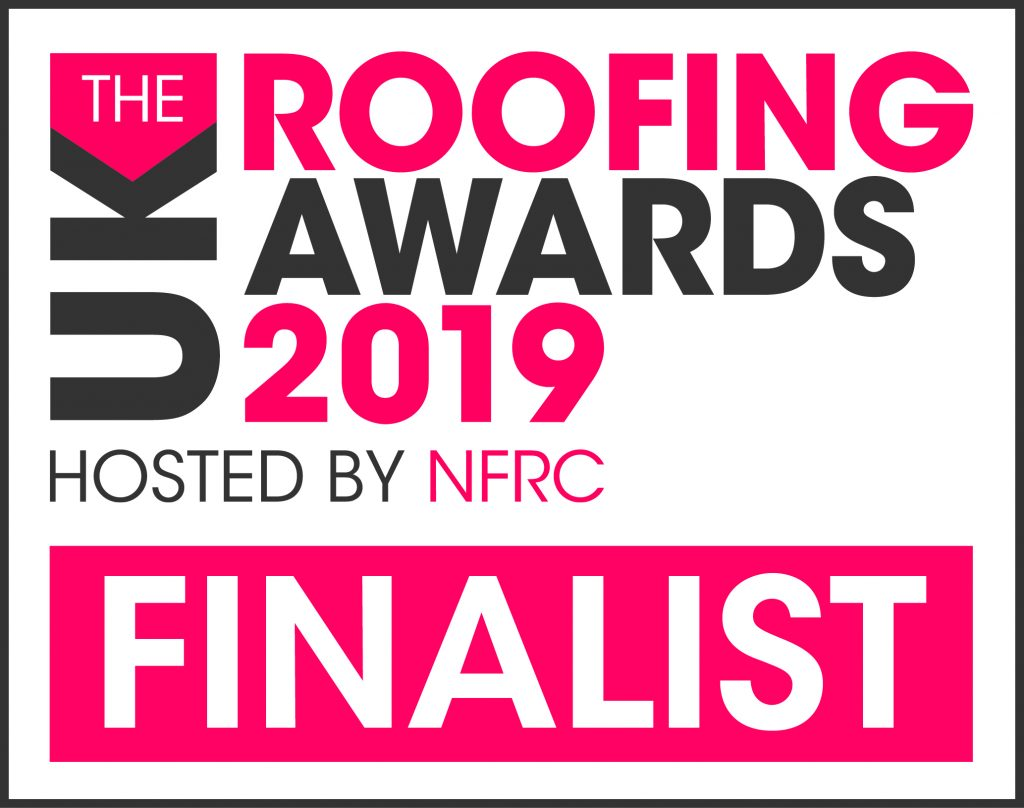NFRC Roofing awards finalist 2019