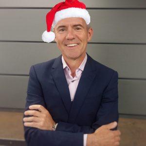 Rob Hughes Longworth Christmas Blog hat