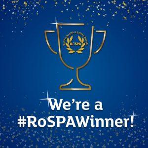 Gold RoSPA safety award